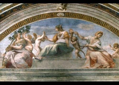le quattro di Raffaello Sanzio