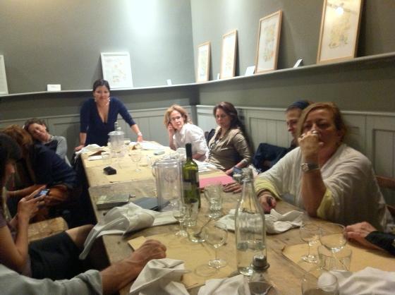 La serata di scrittura e blogger al ristorante Orti&Commenda