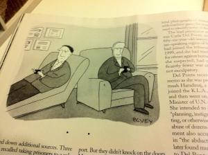 La psicoanalisi contemporanae in una vignetta del New Yorker
