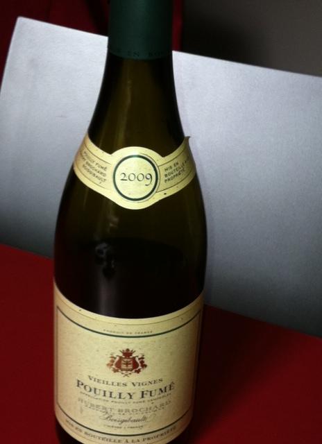 Una deliziosa bottiglia di Poully Fumé