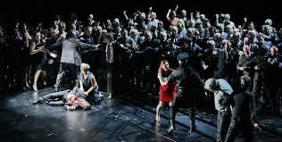 la drammatica e cupa scena finale di Un ballo in maschera