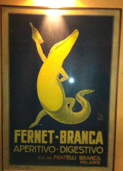 Il Fernet fa digerire anche un coccodrillo!