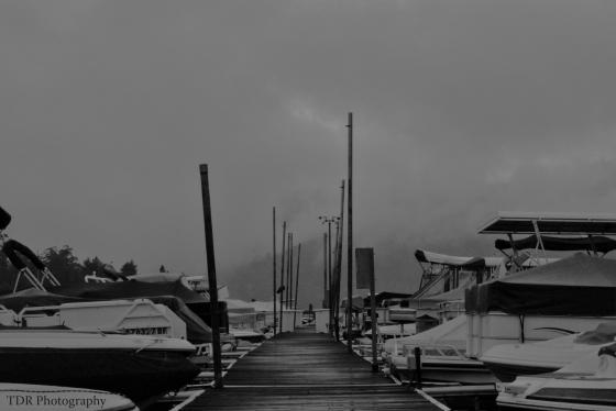 Tramonto immaginario a Big Bear Lake