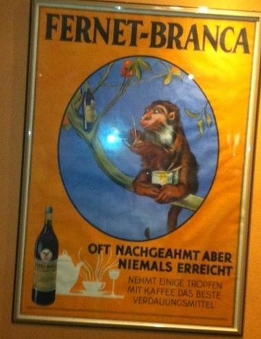 Chissà cosa c'entra la scimmia... bisognerebbe chiederlo ai tedeschi!