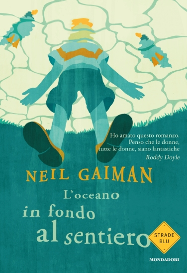 The Italian cover of Neil Gaiman's The Ocean at the End of the Lane - peoplewhowrite