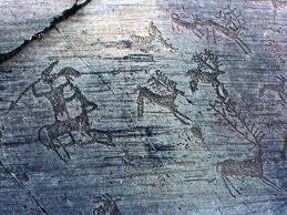 Un'altra foto solo simbolica: scene di caccia ai tempi dei primi camuni