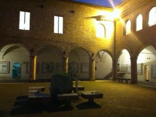 L'edificio in cui si trova il Museo della carta e della filigrana, a Fabriano