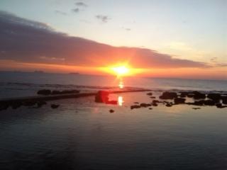 Ed ecco il tramonto