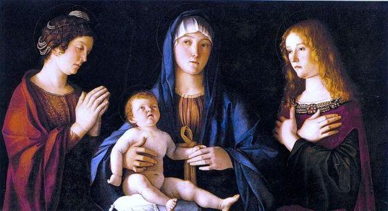 sacra conversazione di Bellini