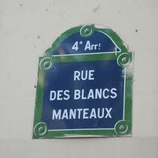 rue de blanc manteaux
